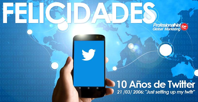 Twitter 10 años