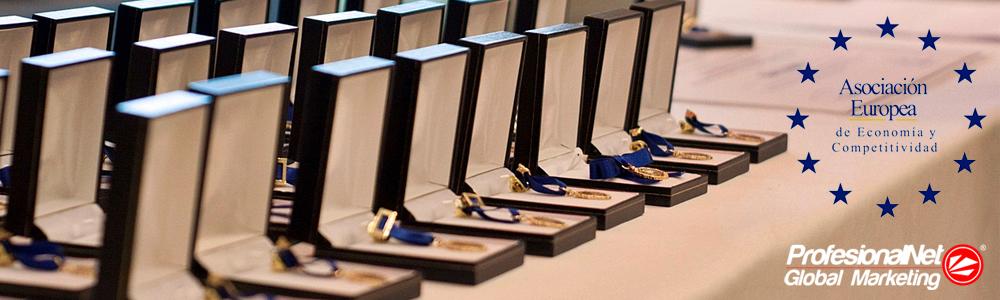 AEDEEC medalla al merito del trabajo