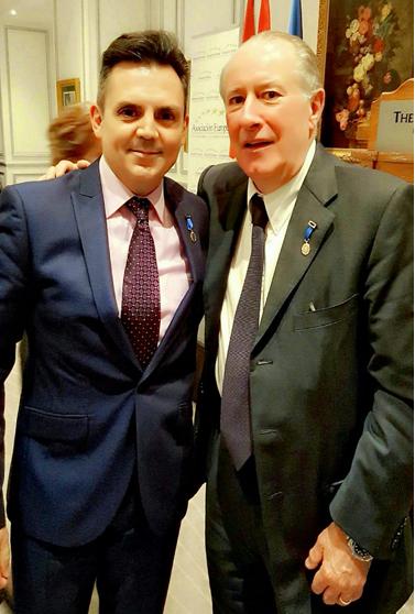 Con el Profesor Dr. D. José María Gay De Liébana